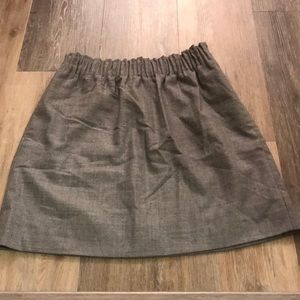JCrew Factory Skirt in Grey
